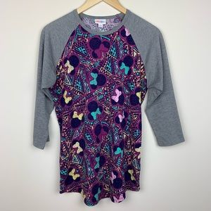 Lularoe Minnie Mouse Randy Top
